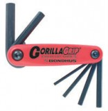 7 Piece Metric Hex GorillaGrip® Foldup Tool